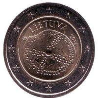 Литва. Монета 2 евро 2016 год. Балтийская культура. распродажа
