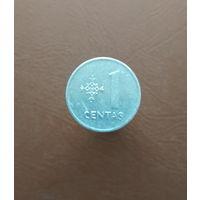 Литва / 1 centas / 1991 год