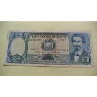 Боливия 500 песо 1981 г. 02515916    распродажа