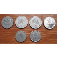 Марокко. Набор монет.