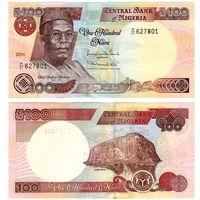 Нигерия 100 наира образца 2011 года UNC p28k