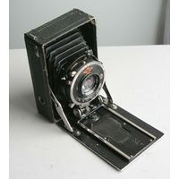 Фотоаппарат AGFA 6х9 с дефектами Германия 1930-е года