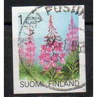 Флора Цветы Финляндия 1992 год серия из 1 б/з марки