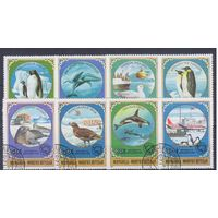 [192] Монголия 1980.Фауна Антарктики.  Гашеная серия.