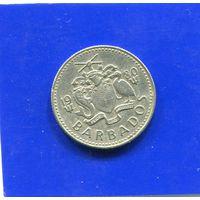 Барбадос 10 центов 1980