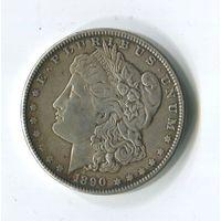 Морган доллар 1890.
