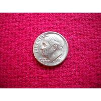 США 10 центов ( дайм ) 1983 г. D