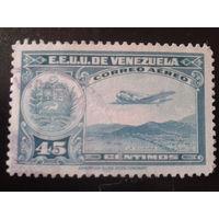 Венесуэла 1938 самолет, герб