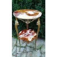 Этажерка / Цветочный Столик в стиле Барокко, Европа. 80-е гг. ХХ века.