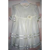 Детское красивое нарядное платье Bebetto НОВОЕ!