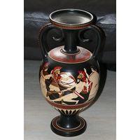 Амфора.греческая ваза.Роспись Клеймо.Пояснение мастера.