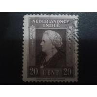 Нидерландская Индия 1934 Колония королева Вильгельмина