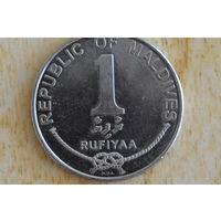 Мальдивы 1 руфия 2007