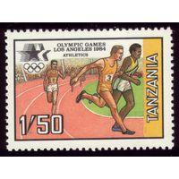 1 марка 1984 год Танзания Олимпиада 243
