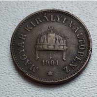 Венгрия 2 филлера, 1901 1-1-2