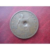1/2 пенни 1936 год Великобритания