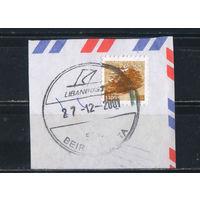 Ливан Респ 1999 Кедр Стандарт Вырезка #1399С