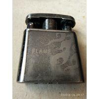 """Газовая зажигалка с электронным розжигом""""FLAME""""."""