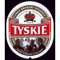 Этикетка Пиво Тиски 2 Польша