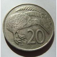Новая Зеландия 20 центов 1979 г