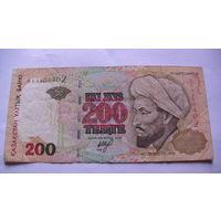 Казахстан 200 тенге 1999г. 6809402  распродажа