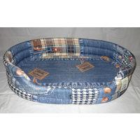 Лежак для собак р. 95х63см, бязь.