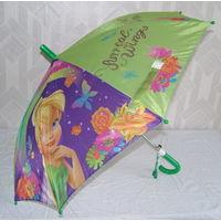 Зонт детский полуавтомат. Интересные расцветки. Отличный подарок. Новый. Недорого!