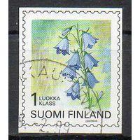 Флора Цветы Финляндия 1998 год серия из 1 б/з марки