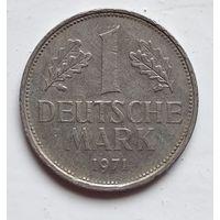 "Германия 1 марка, 1971 ""D"" - Мюнхен 1-2-18"