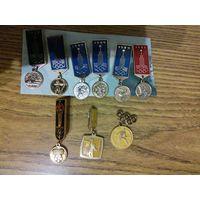 Олимпиада 1980. Значки-медальки.