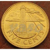 4709:  5 центов 1999 Барбадос