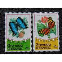 Гренада. Бабочки.
