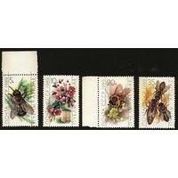 СССР 1989. Пчеловодство. (#6069-72) Полная серия. MNH