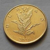 10 липа, Хорватия 2011 г., UNC