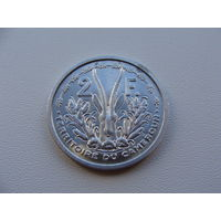 Камерун.  2 франка 1948 года KM#9