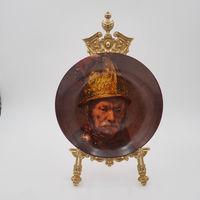 Редкая настенная коллекционная тарелка Ak Kaiser