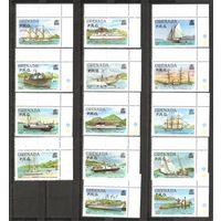 Гренада 1980 Корабли