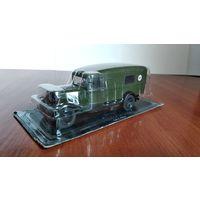 АНС Автомобили на Службе Газ-55 санитарный автобус 1:43