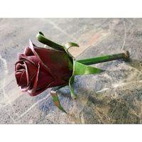 Цветок (роза) из металла