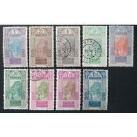 Франция.  колонии Франции.Французская Гвинея 1913-24 \268\ кц12.4mi. штемпель Mamou