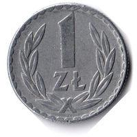 Польша. 1 злотый. 1976 г.