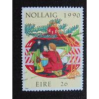 Ирландия 1990 год  Рождество.