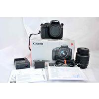 Зеркальный цифровой фотоаппарат Canon EOS 2000D Kit 18-55mm IS