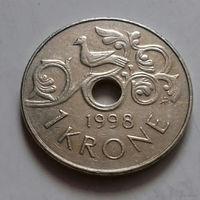 1 крона, Норвегия 1998 г.