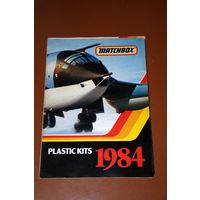 Каталог моделей фирмы MATCHBOX 1984 24стр.