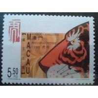 Китай Макао, колония Португалии год тигра