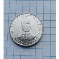 Ямайка 10 центов 1993г.Блеск.