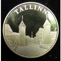 Памятный жетон, Республика Эстония 100 лет, 1918 - 2018