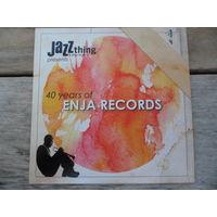 CD - Разные исполнители - 40 years of Enja Records - Enja Records, Austria