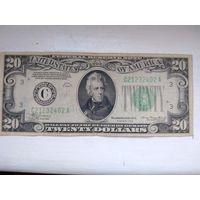 20 долларов США 1934 г.